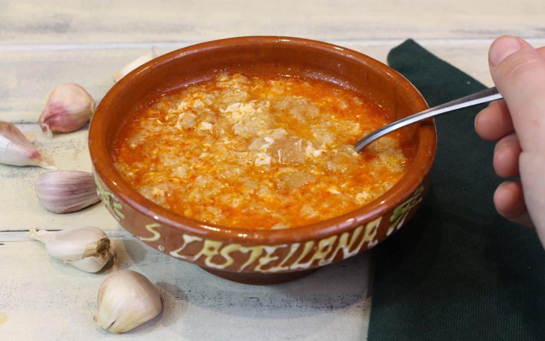 #1 Sopa de Ajo. Receta casera de toda la vida